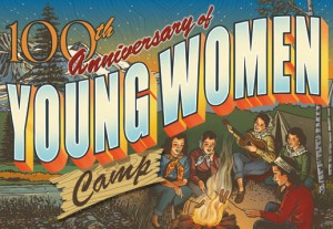 100 years og young women camp