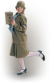 LDS Young Women Uniform 1920s