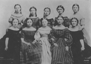 Brigham Young Daughters 1865
