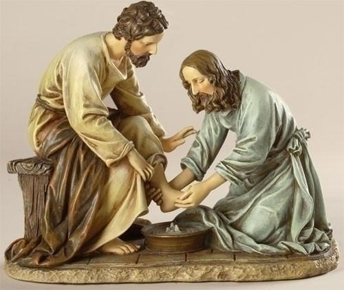Jesus Washing Feet   6.5 John 10-21