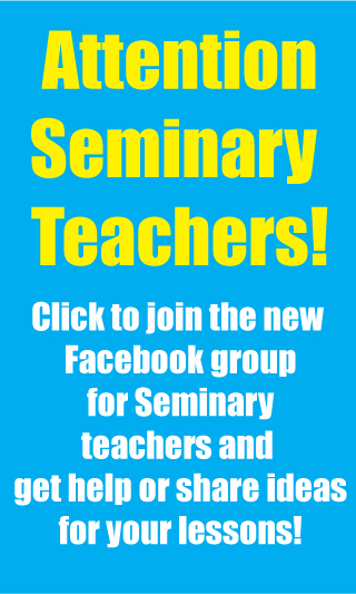 attentionseminaryteachers New Seminary Facebook Group for Teachers