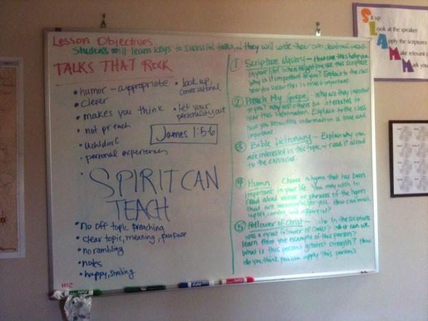 talks board 0 Week One - Fin