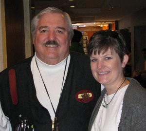 This is me with a James Doohan lookalike at Dragon*con 2011