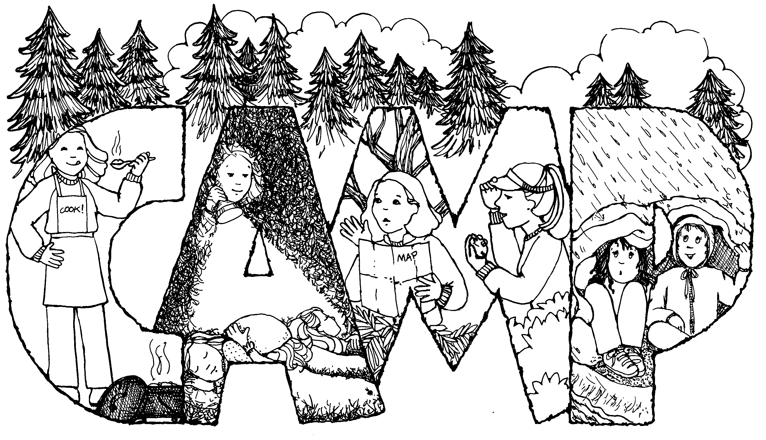 Camp 2 jenny smith 39 s lds ideas bookstore for Free drawing sites