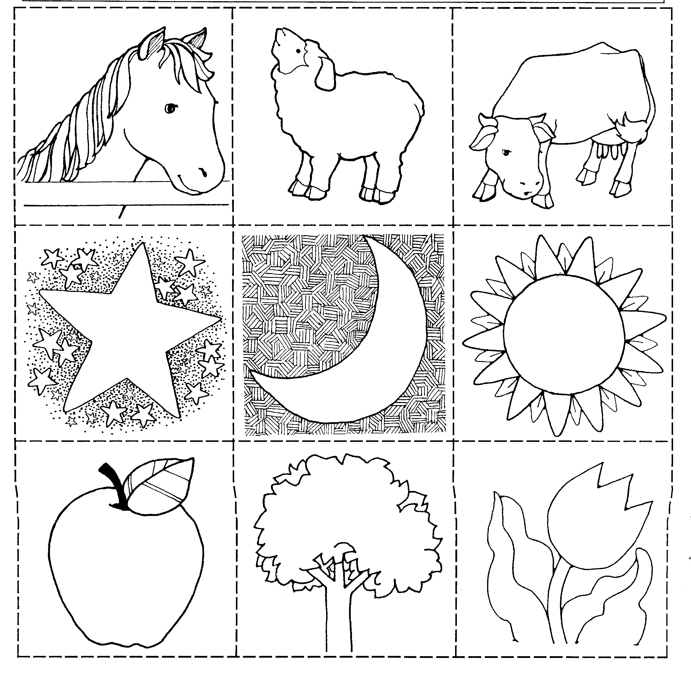 The Line Art And Living : Nursery game jenny smith s lds ideas bookstore