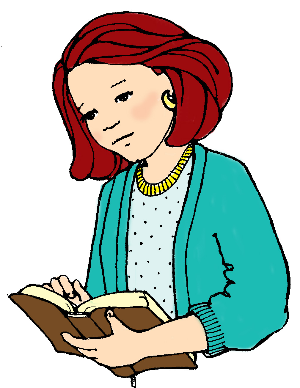 Young Woman with Scriptures | Jenny Smith's LDS Ideas ...