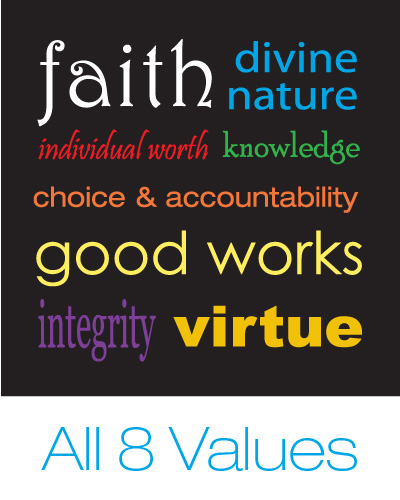 young women value stickers Jenny Smith Portfolio