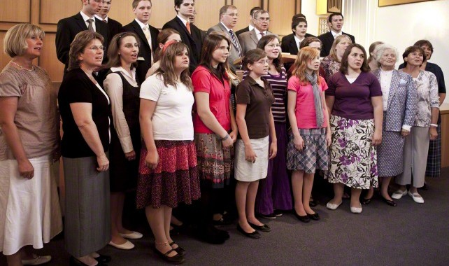 ward choir singing germany 817978 gallery Can we stand to sing during sacrament meeting?