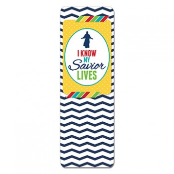 Primary Theme Bookmark - I know my savior lives