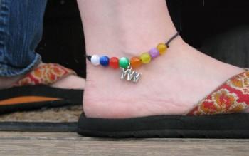 YW Charm Anklet, kit