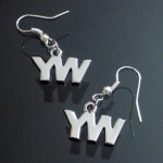 young women earring