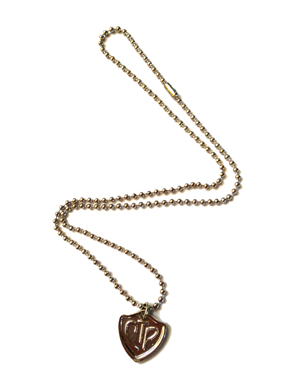 CTR charm on our inexpensive ball chain necklace