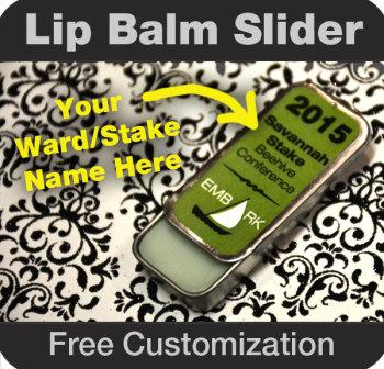 Lip Balm Slider - Young Women - Free Customization