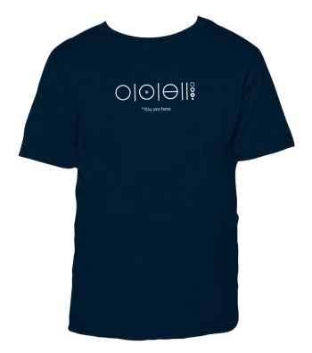 shirtdesign1} Navy L(10-12)