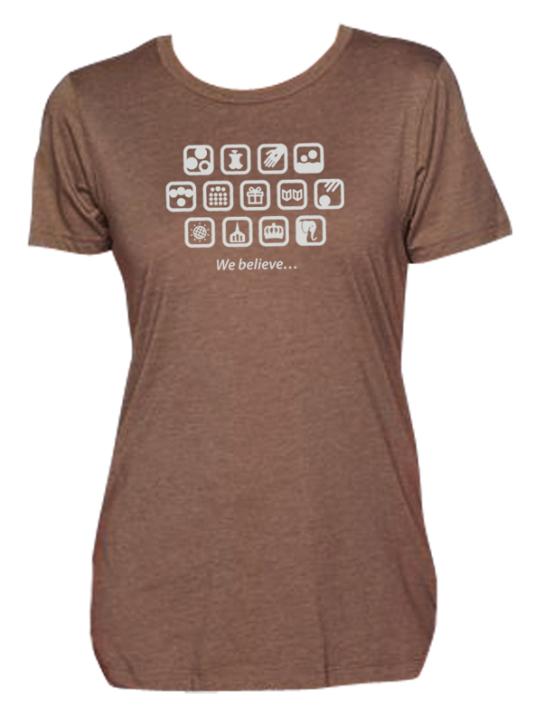 shirtdesign1} Brown S