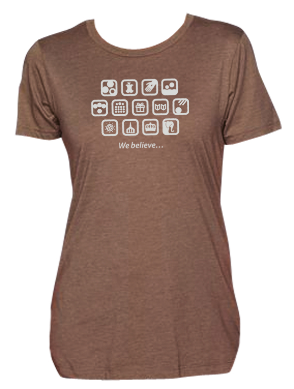 shirtdesign1} Brown S