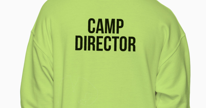 yw hoodie camp director A moment of silence