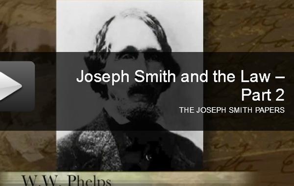 JosephSmithAndTheLaw D&C 113-120