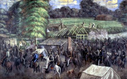 """""""Haun's Mill"""" by C.C.A. Christensen"""