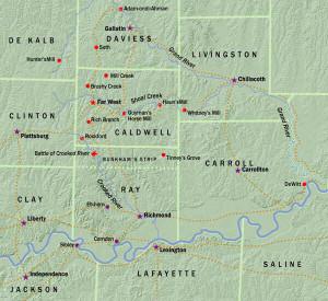 Mormon Missouri War 1838