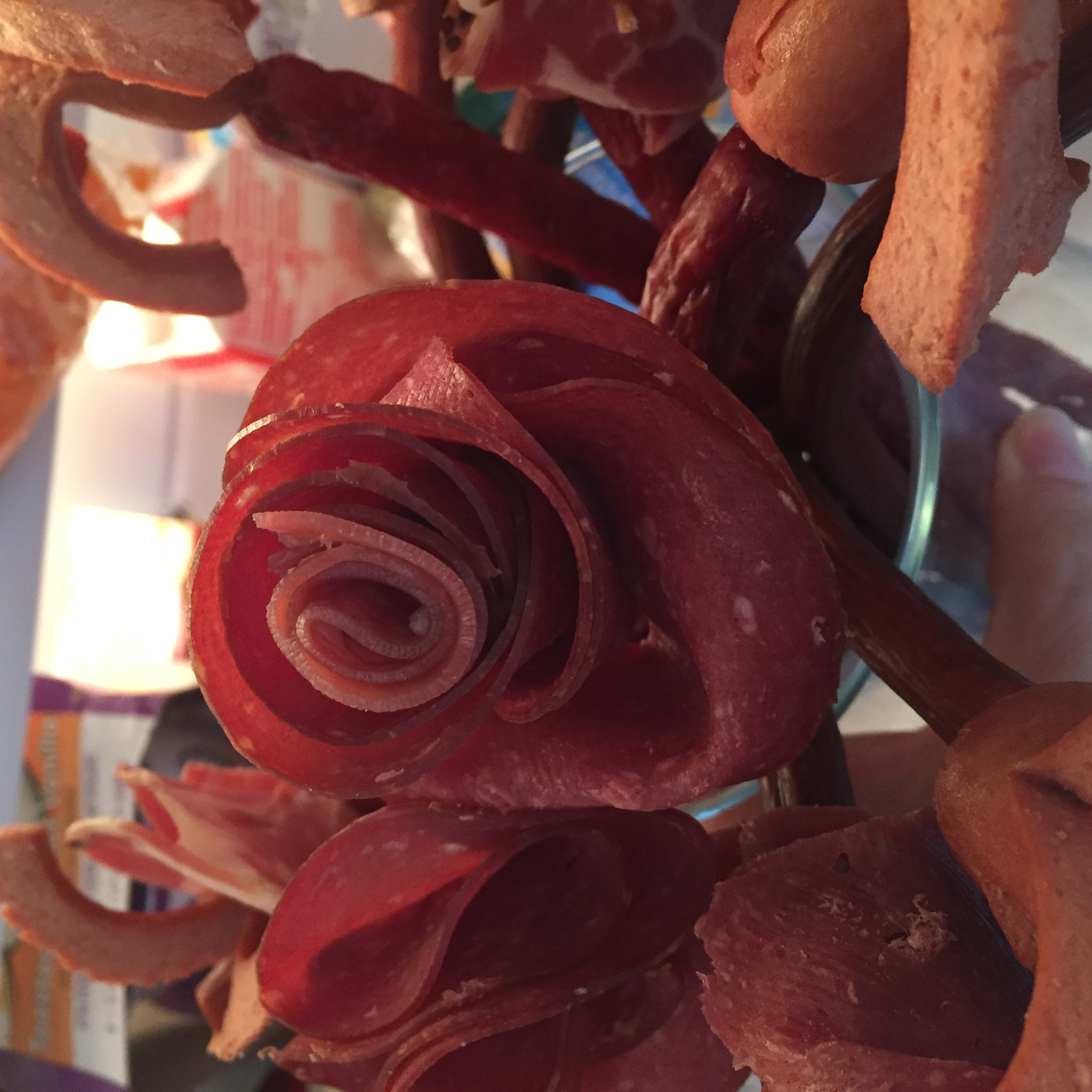 3B473C80 7DE8 480A AD06 4463C842B2A8 Meat bouquet of flowers - Father's Day DIY