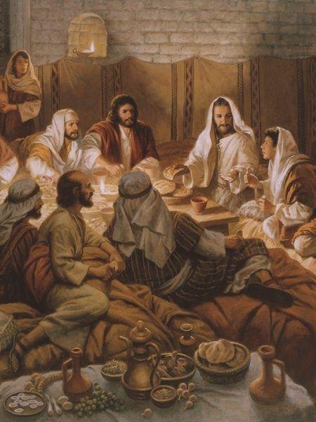 last supper John 10-21