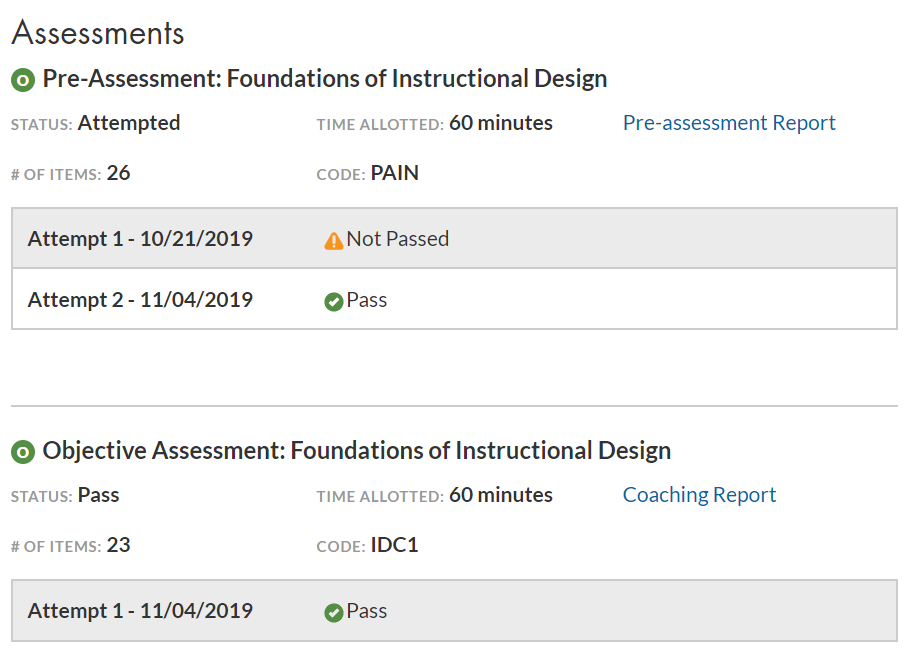 IDC1Assessment WGU - Better Than Expected