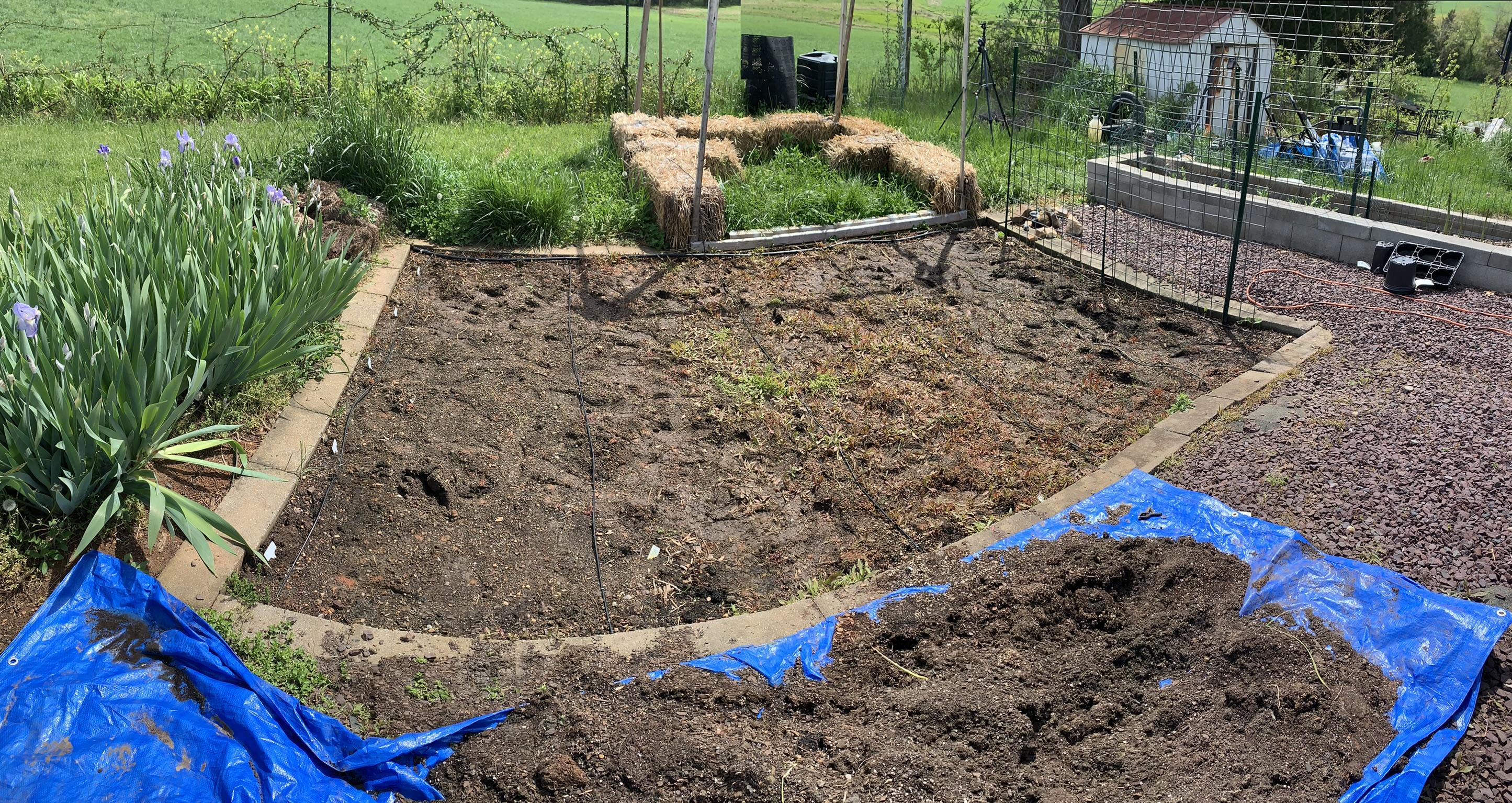 F34F92DF 7248 44D3 851D 2D7406537179 Finished drip line, planting, sharing