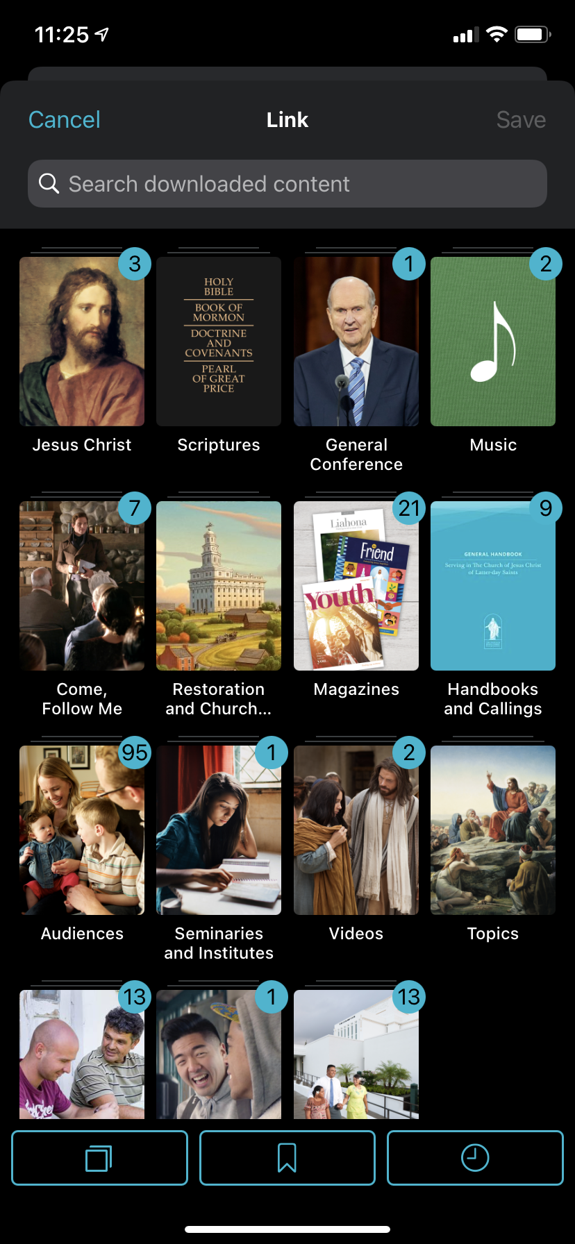 img 4341 How to create a cross-reference link in Gospel Library App and how to use links when teaching