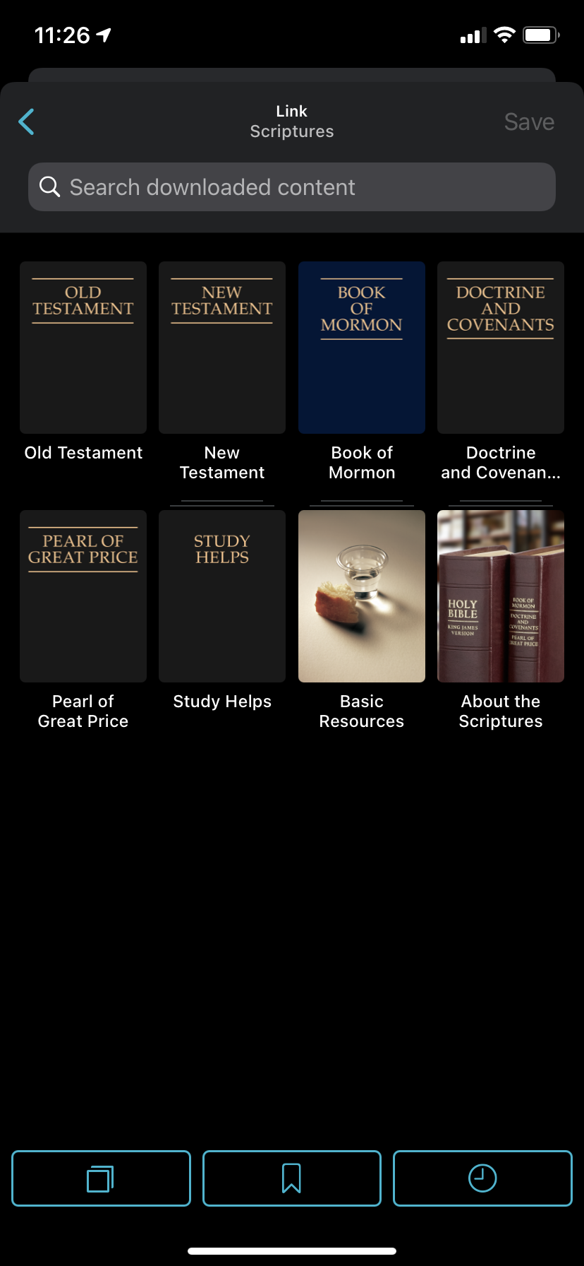 img 4342 How to create a cross-reference link in Gospel Library App and how to use links when teaching