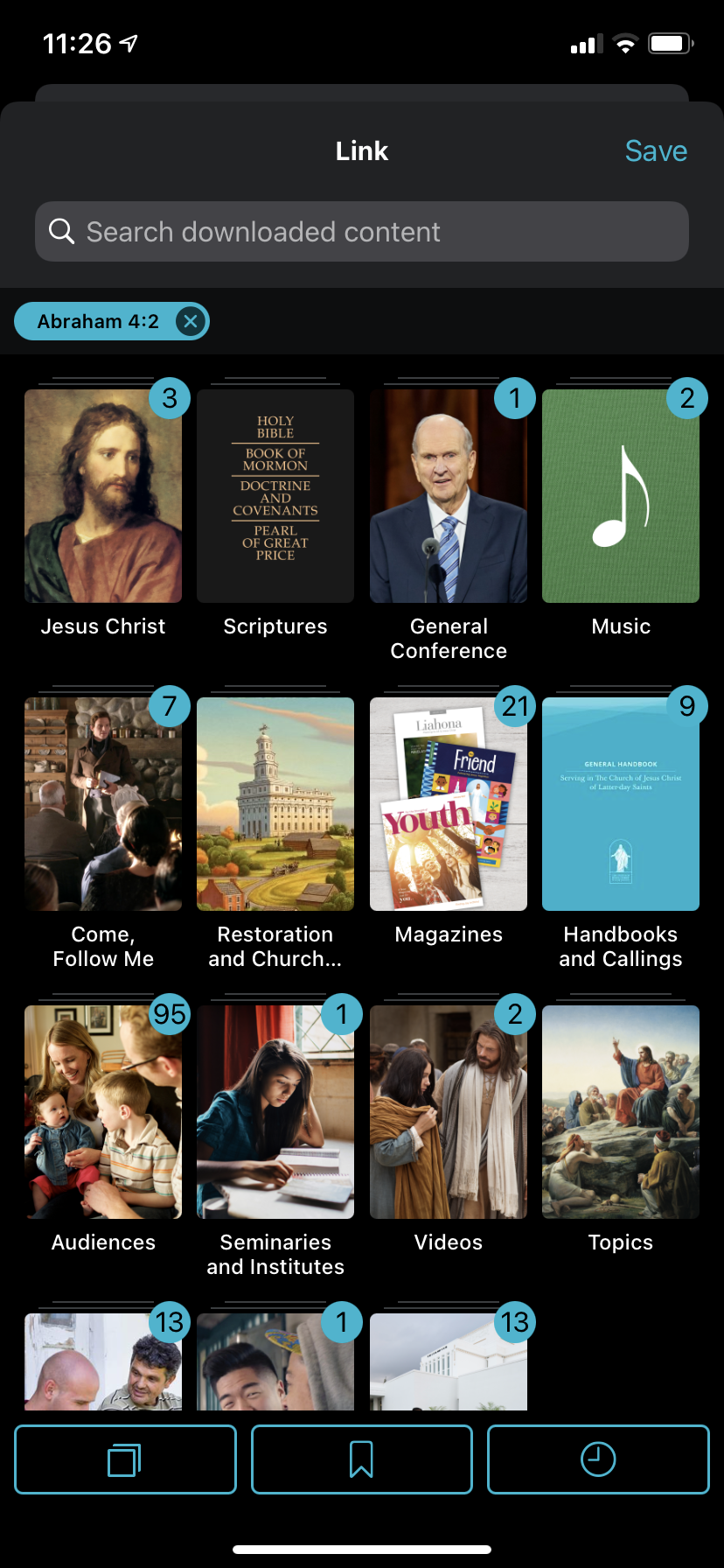 img 4346 How to create a cross-reference link in Gospel Library App and how to use links when teaching