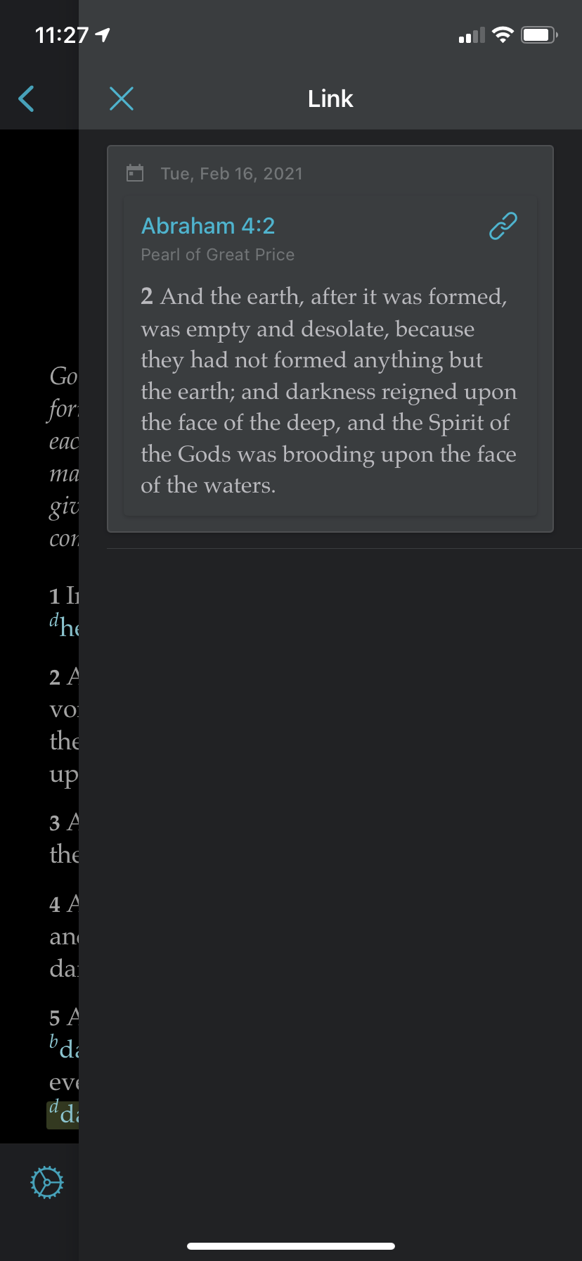 img 4348 How to create a cross-reference link in Gospel Library App and how to use links when teaching