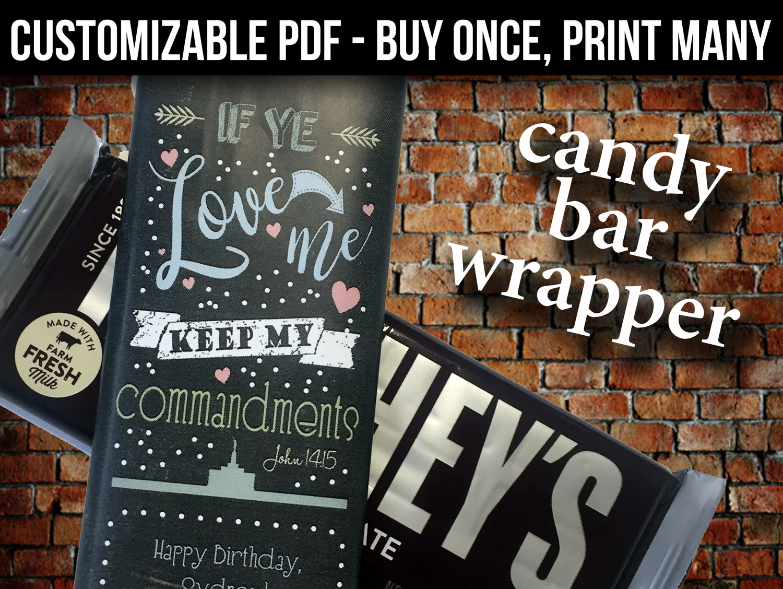 4x3 candy bar wrapper Jenny Smith Portfolio