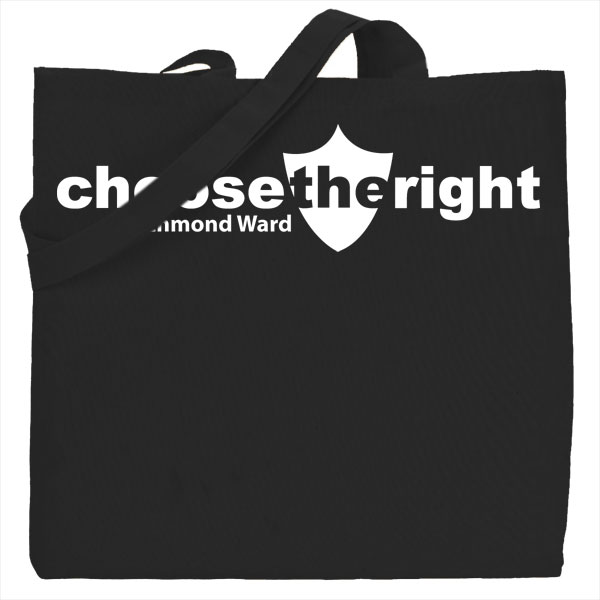 tote black choosetheright Jenny Smith Portfolio