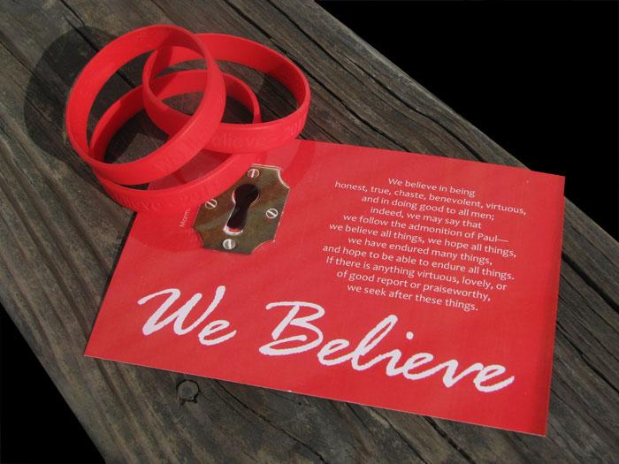 we believe bookmark wristba Jenny Smith Portfolio