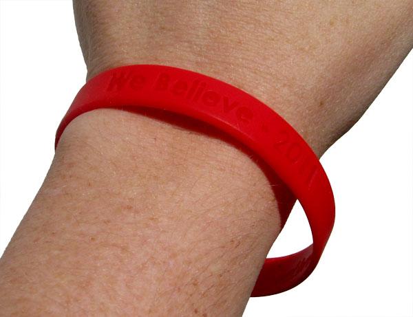 we believe wristband2 Jenny Smith Portfolio